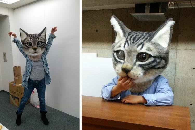 Maschera gatto gigante  DottorGadget