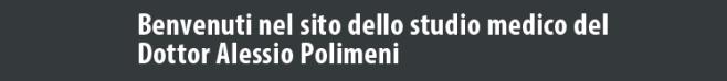 homepage Dottor Polimeni Alessio