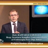 Polipectomia endoscopica con il Dr. Raffaele Colucci a Dottor Salute