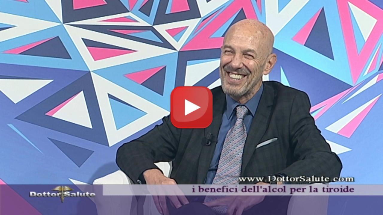 Alcolizzazione dei noduli tiroidei a Dottor Salute con il Professor Pierpaolo De Feo