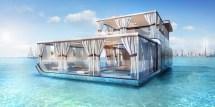 In Dubai Floating Seahorse Villas Luxury