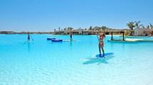 Hitting Beach In Las Vegas Sin City Lagoon