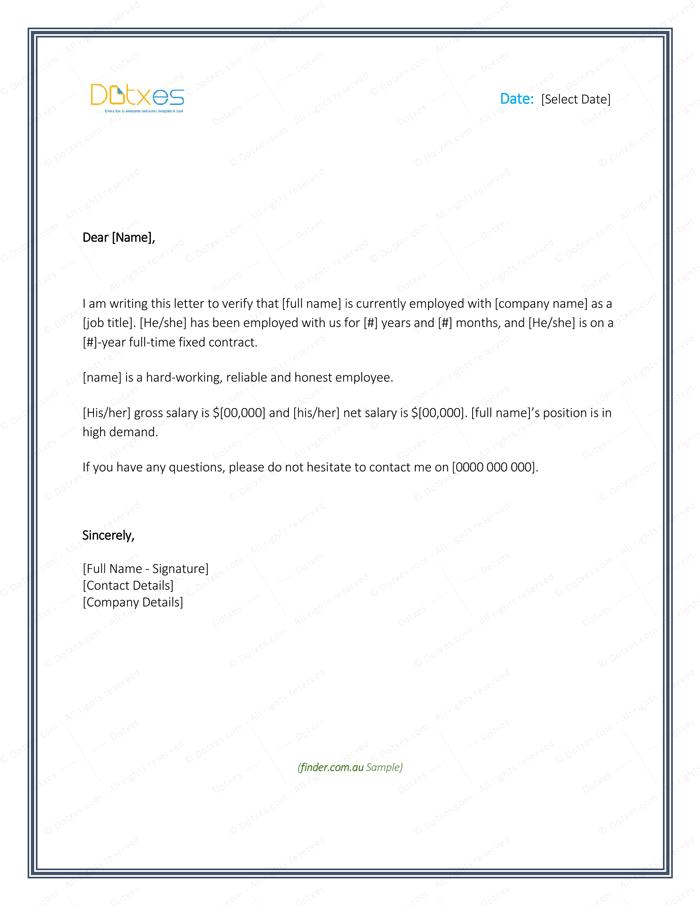 Rate free hsbc bank letterhead form. Employment Verification Letter - 4+ Printable Formats
