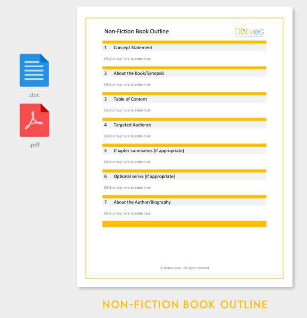 Novel Outline Template 11 For Word Excel PDF Format