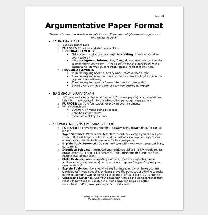 Sample Introduction Paragraph For Argumentative Essay Outline For
