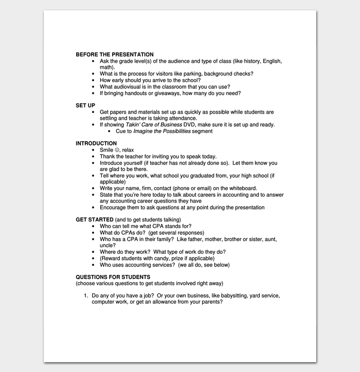 Script Outline Template 12 Examples For Word & PDF Format