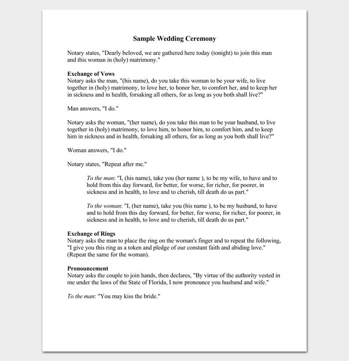 wedding sermons outline