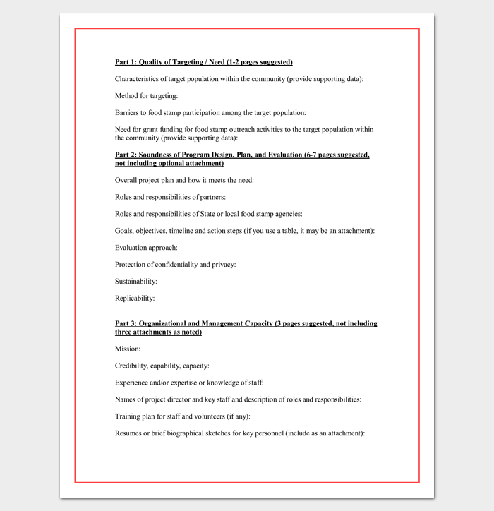 Technical Proposal Outline Word Doc