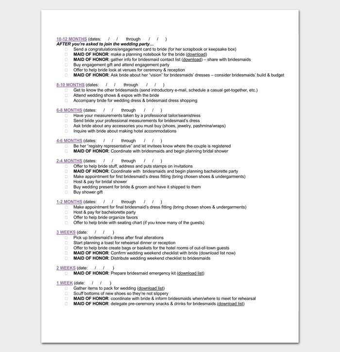 Event To Do List Template 40 Checklists In Word Excel Pdf