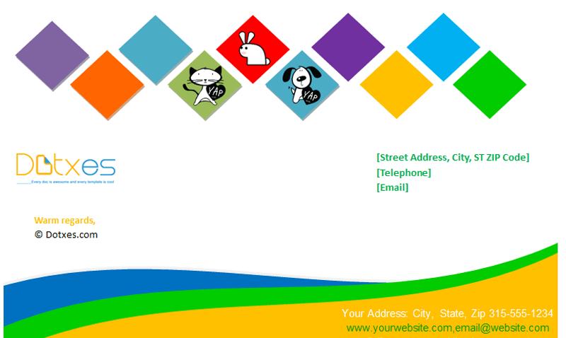 Company Letterhead Template (Box Design) featured image