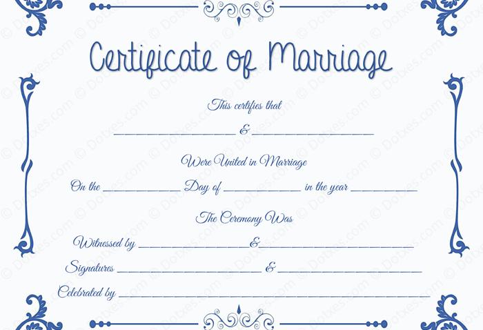 marriage certificate template microsoft word dotxes