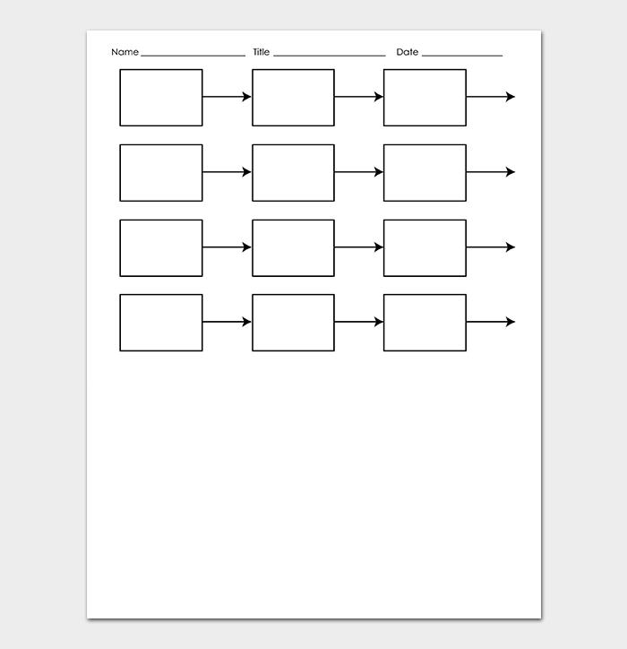 Printable Blank Timeline Templates for Kids