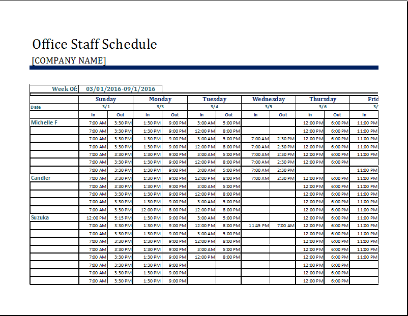 depreciation schedules in excel