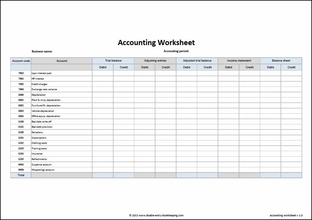 accounts receivable worksheet - April.onthemarch.co
