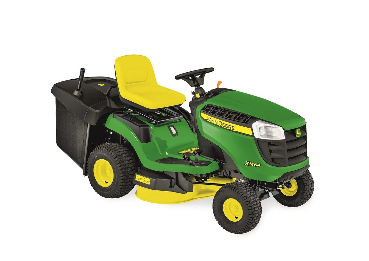 hight resolution of john deere x146r ride on lawn mower thumbnail