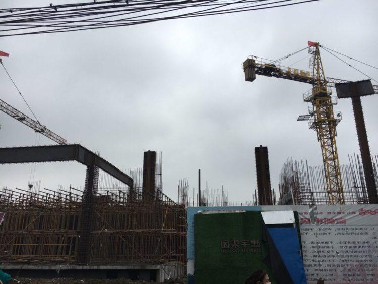 高邮市政府正在修建汪曾祺文化特色街区