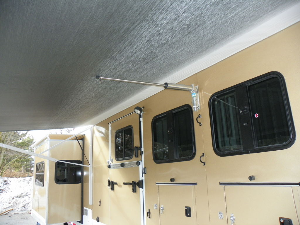 hight resolution of electric awning