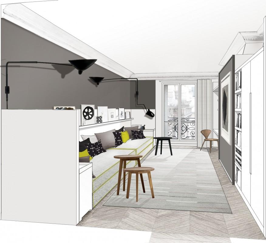 appartement paris 7 double g  Maisonsappartements  projets  wwwdoublegfr