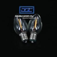 C7 C23 Nightlight 120V 0.7W LED Filament Clear Light Bulb ...