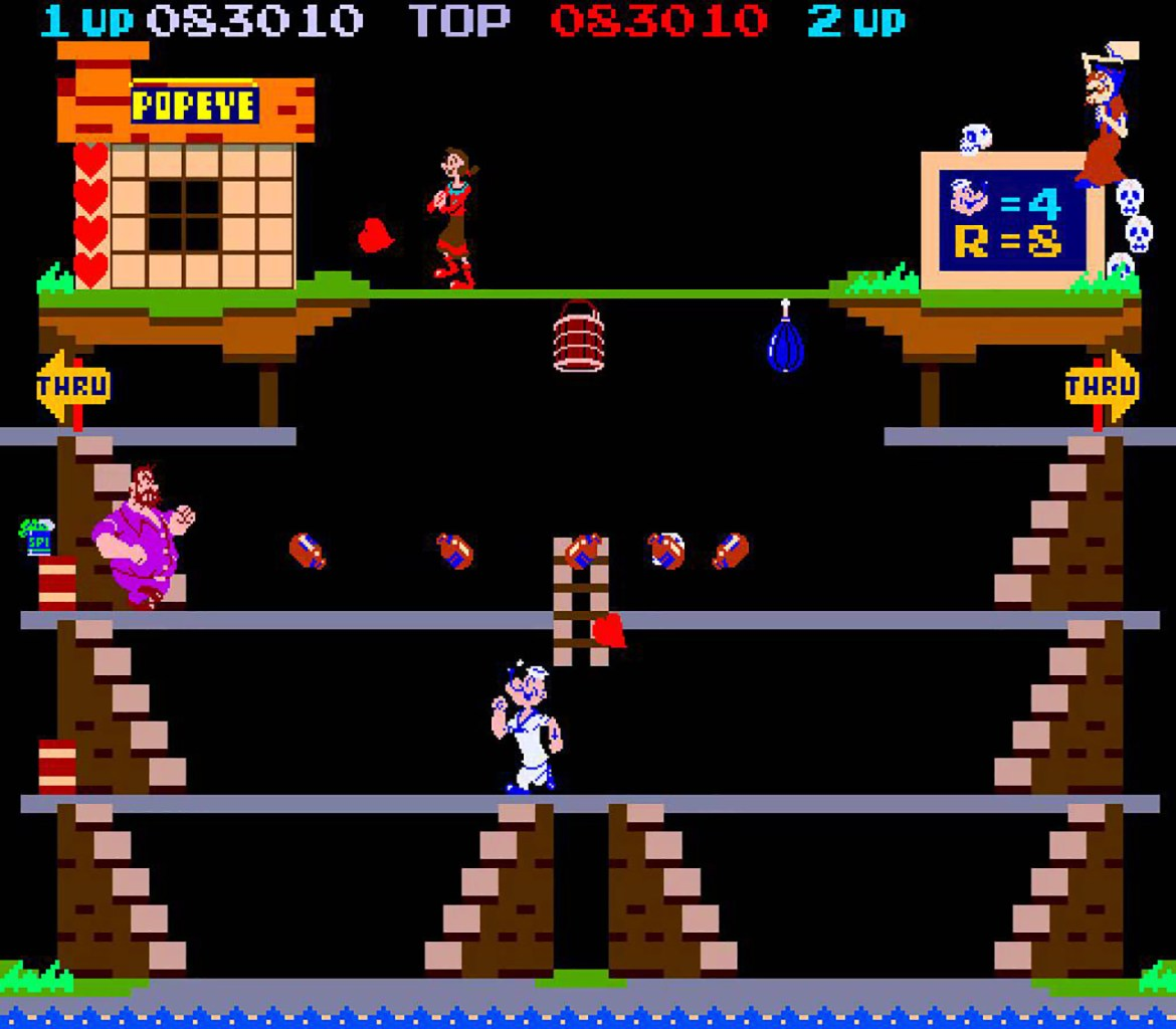 Popeye on NES