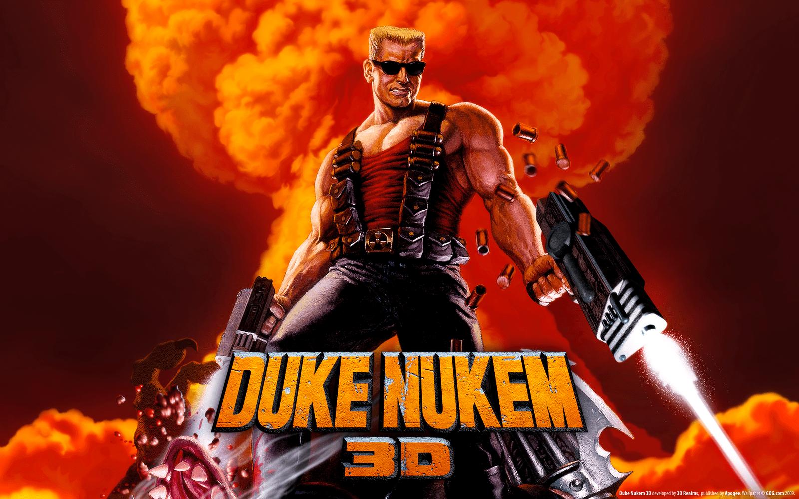 Duke Nukem 3D cover artwork