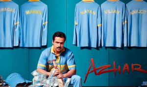 The world television premiere of 'Azhar' will air on 14th August 2016 at 8pm on Sony Max