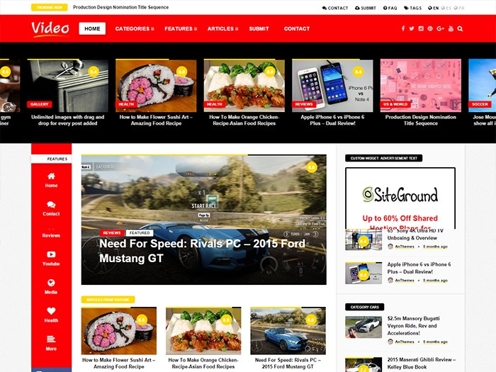 Video Wordpress Theme  how to install videotube - a responsive video