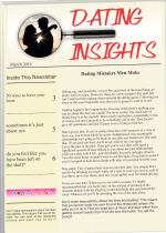 Dating Insights Newsletter October 2014