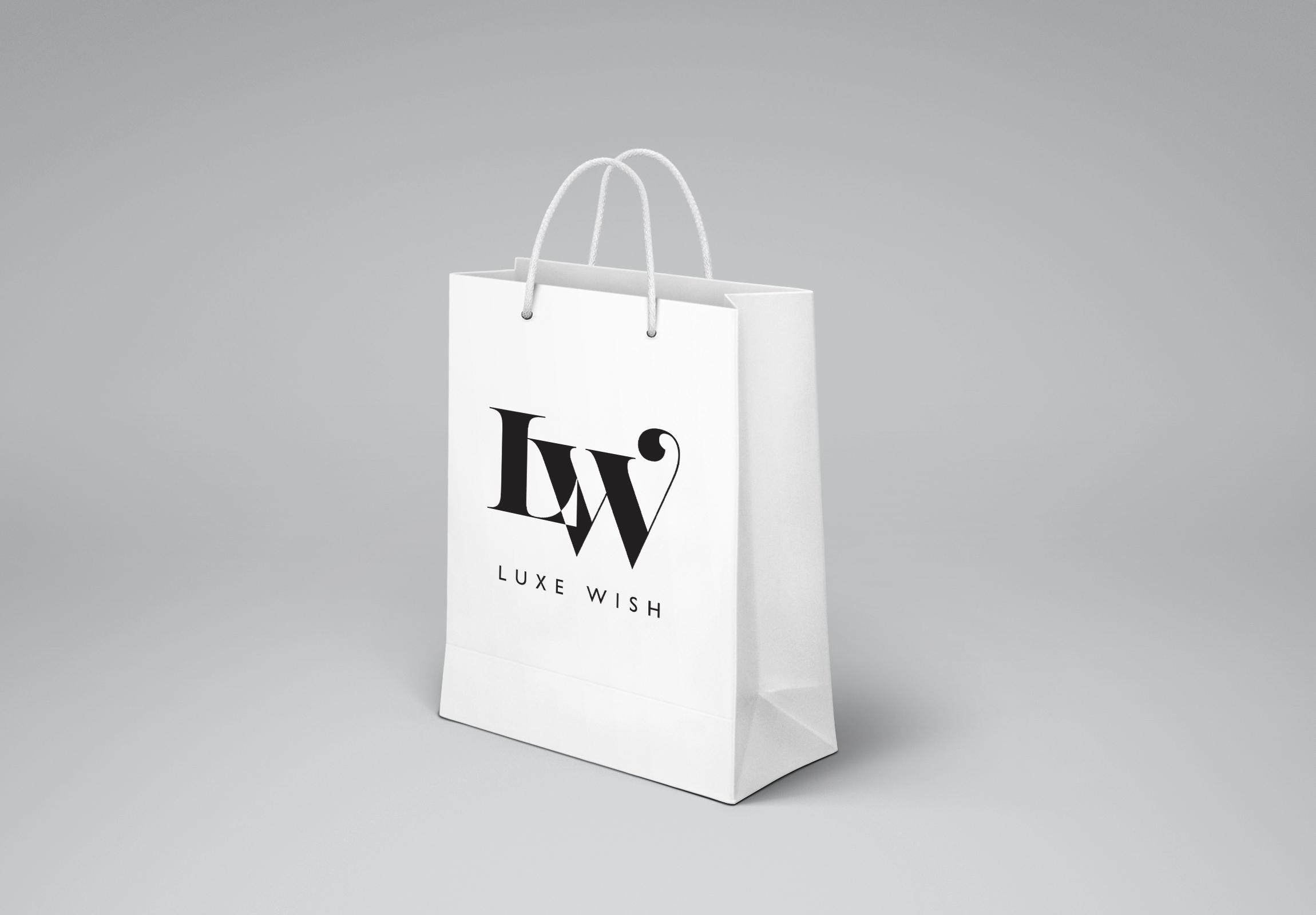 Luxe Wish - Shopping Bag