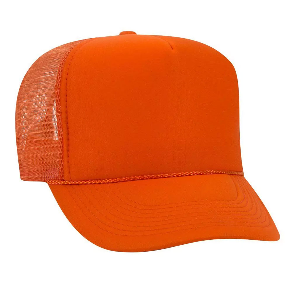 OrangeMeshBackFoamTrucker