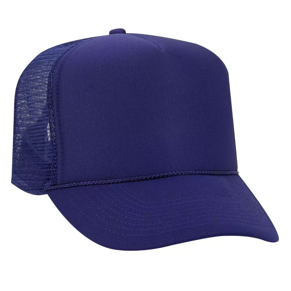 PurpleMeshBackFoamTrucker