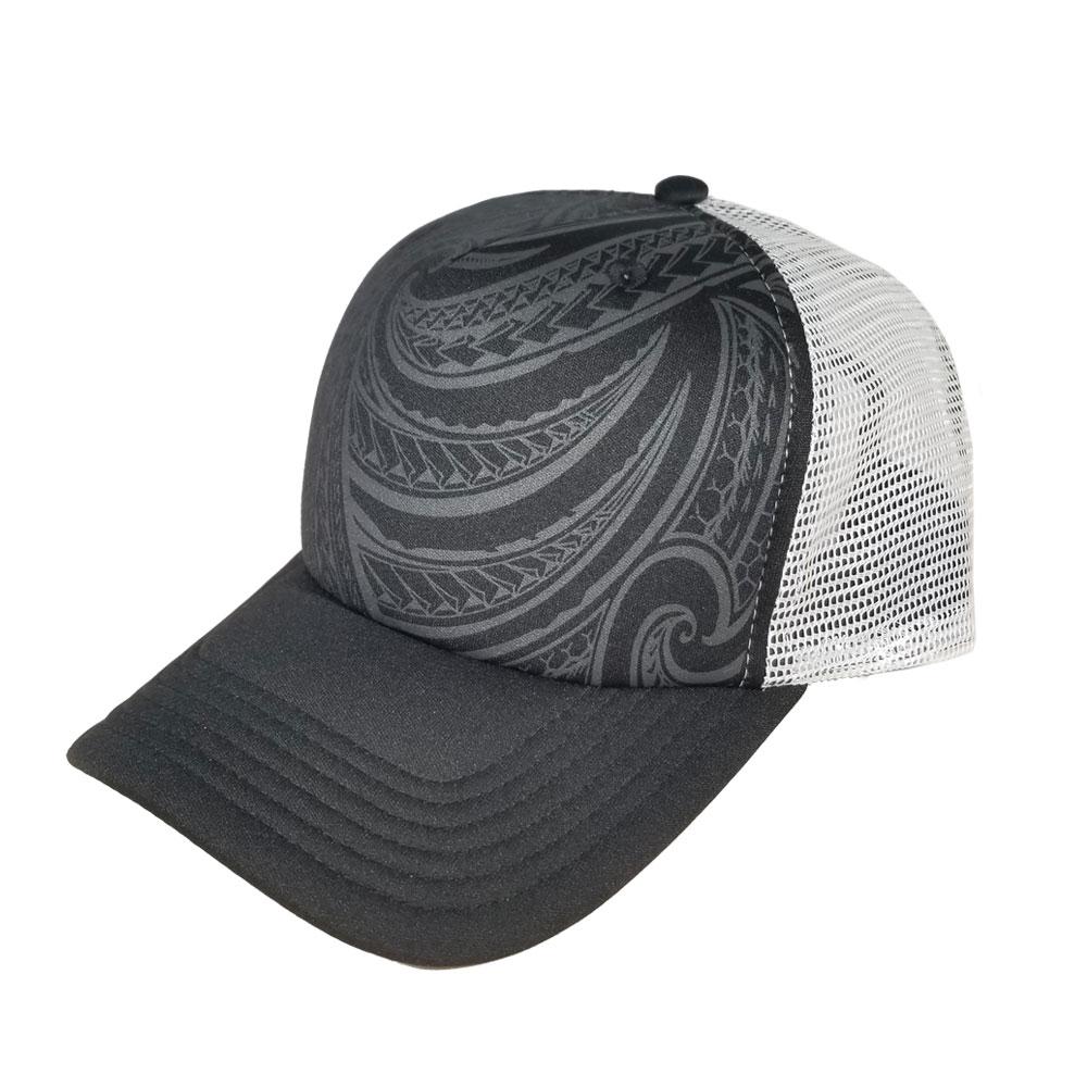 Tribal-Gray-Foam-Trucker-Hat