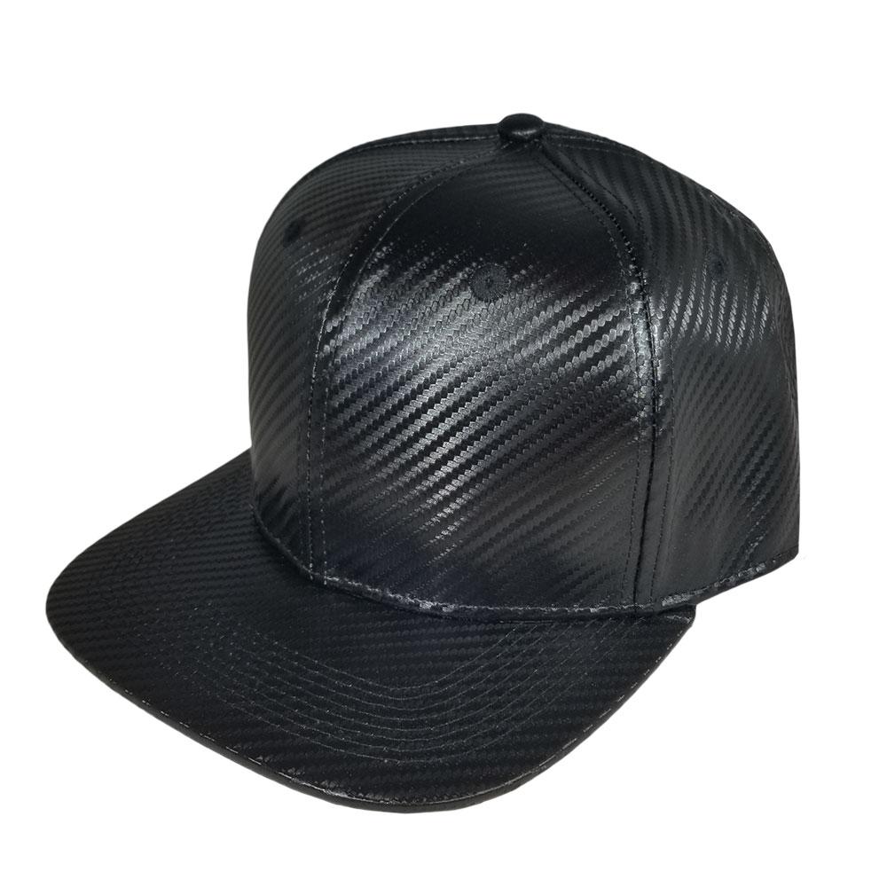 Black-Carbon-Flatbill-Snapback-Hat