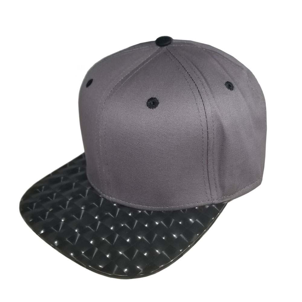 Gray-Black-Hologram-Bill-Snapback-Hat
