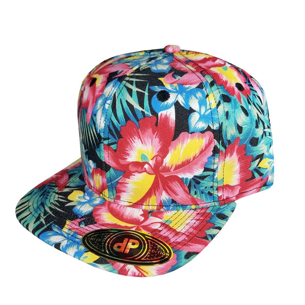Full-Ginger-Denim-Snapback-Hat