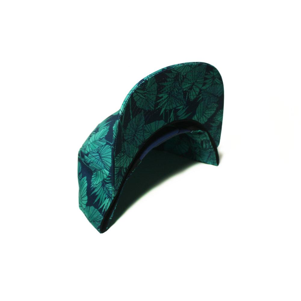 6630aba3 Blank Hat Snapback Flatbill: Kalo Mint Leaf