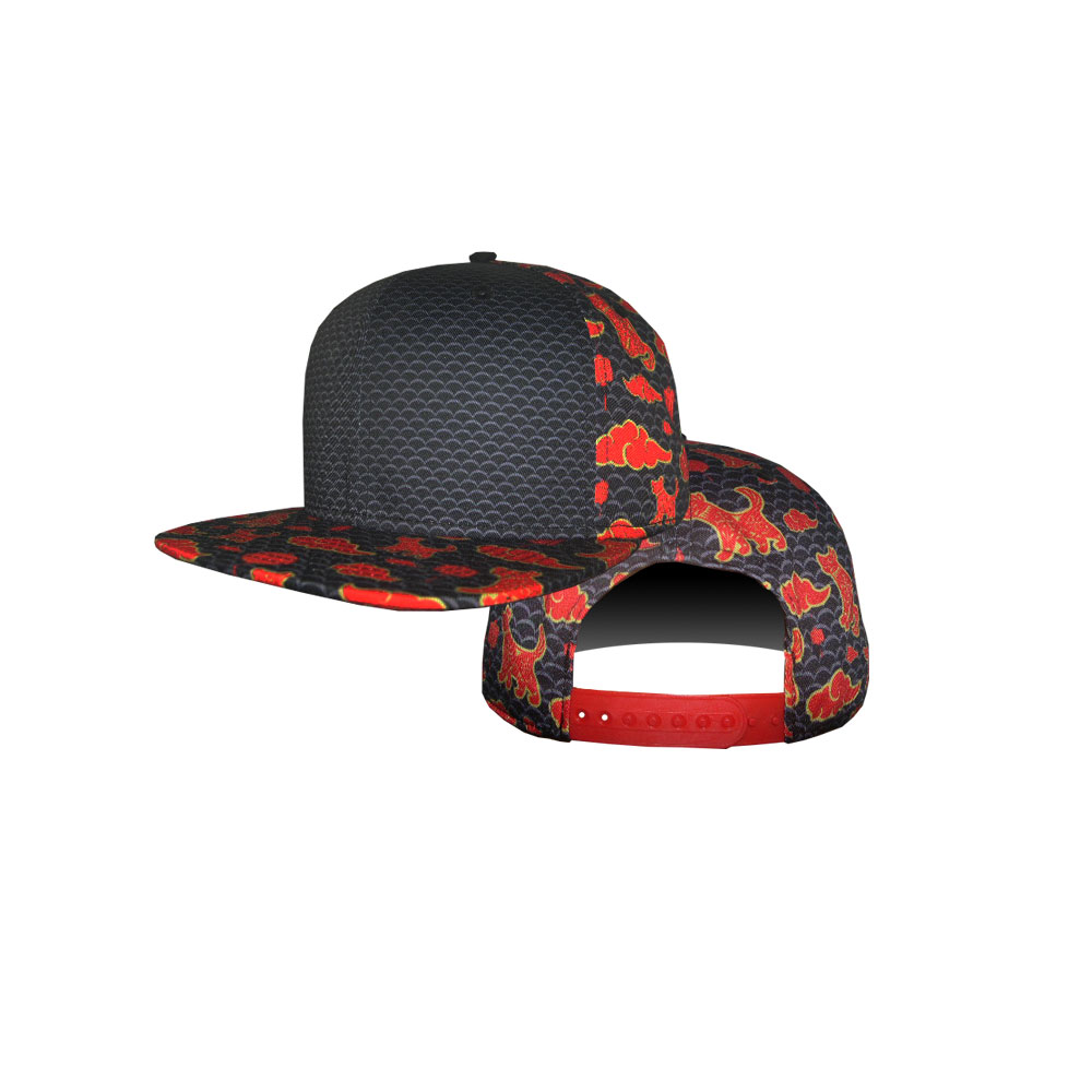 Blank Hat  Chinese New Year 2018 Year of the Dog Flatbill Snapback ... 6a0269145ea1