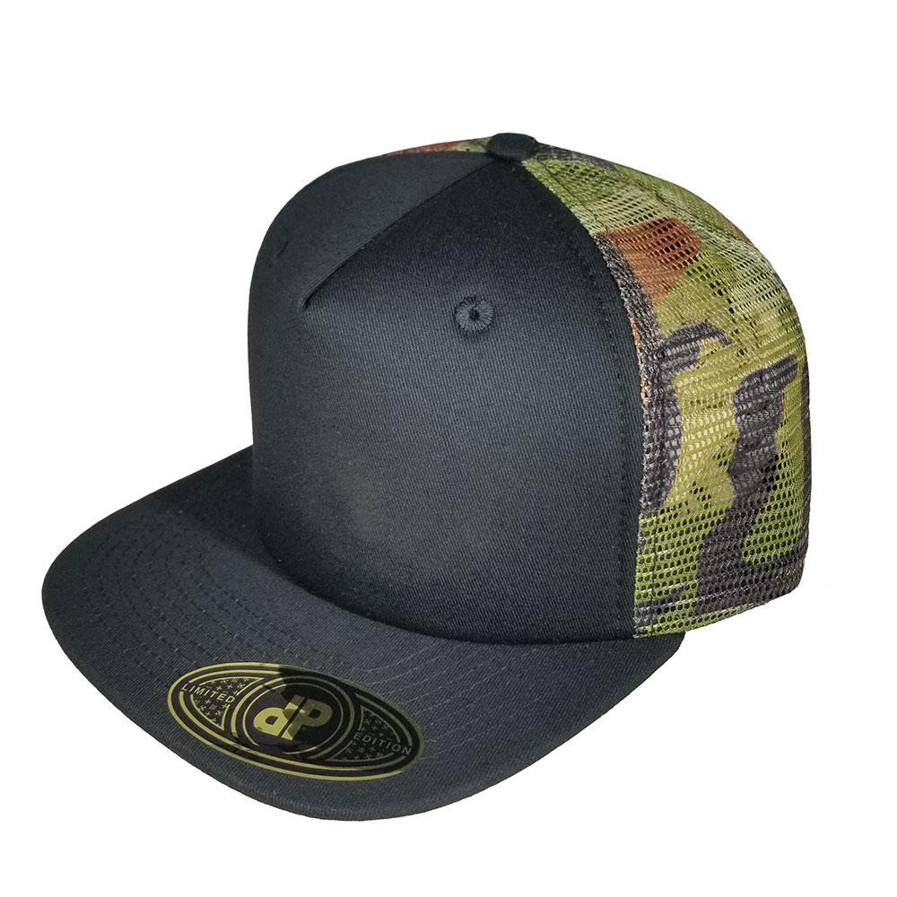 Black-Camo-Mesh-Floral-Snapback-Hat