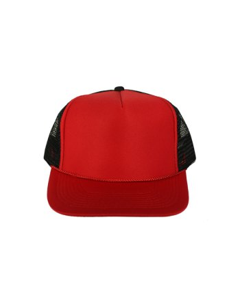 Red-Black-Foam-Trucker