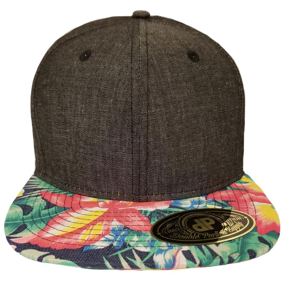 Denim-Ginger-Snapback-Hat