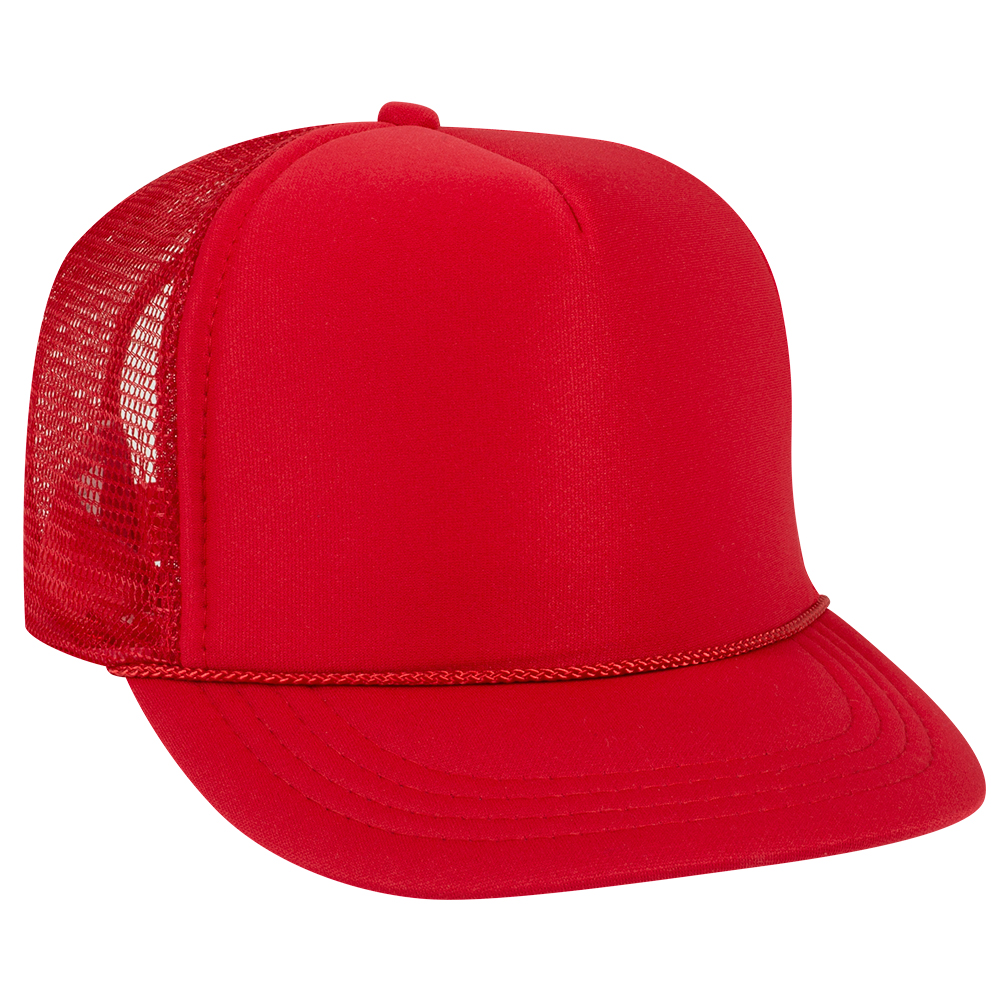 Red Youth Foam Trucker Front