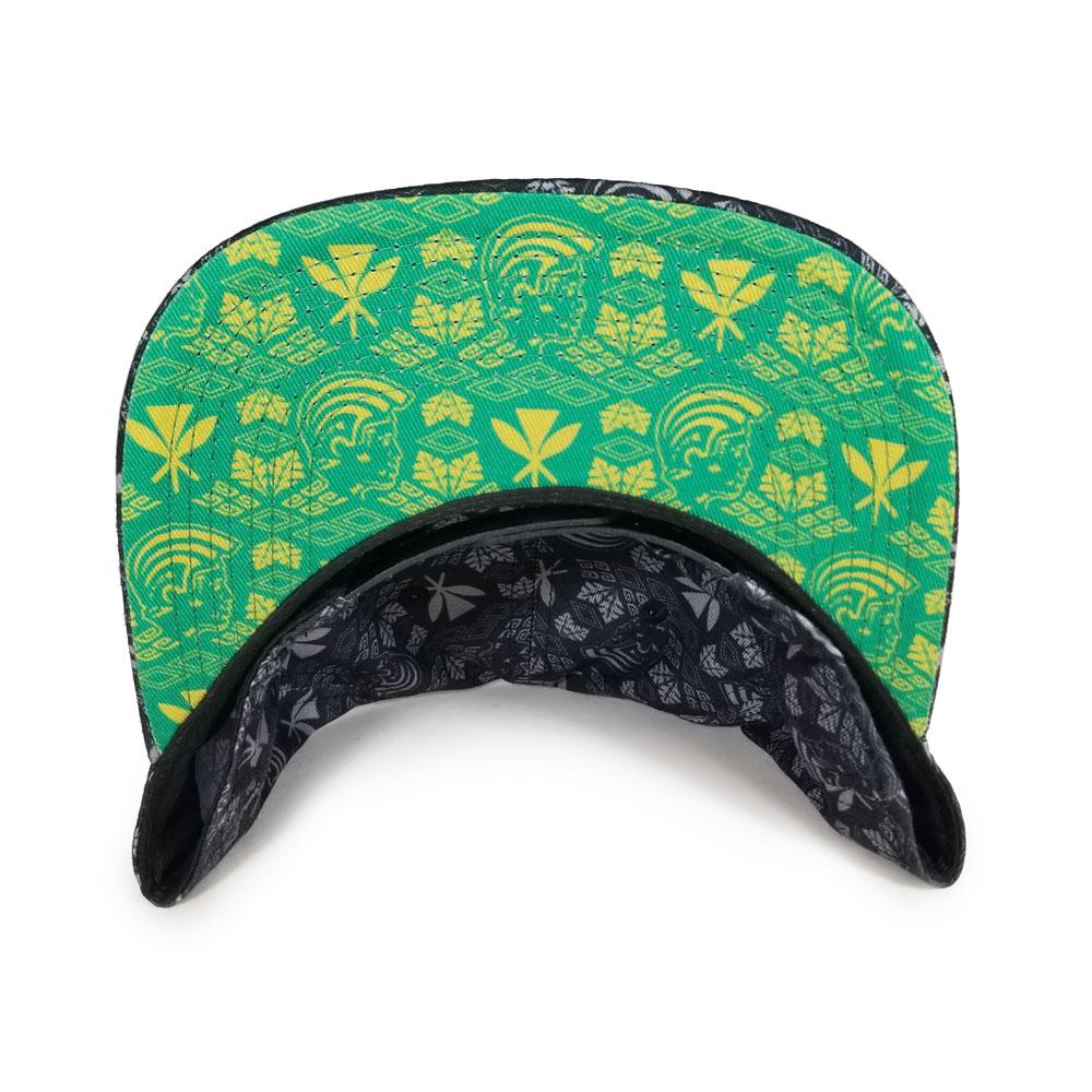 King-K-Black-Green-Snapback-underbill