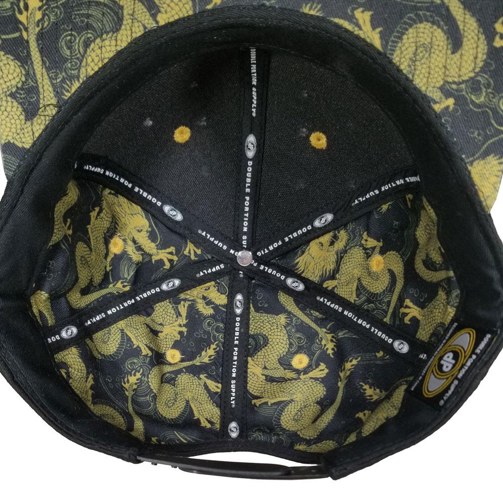 Dragon-Inside-lining-Flatbill-Snapback-Hat