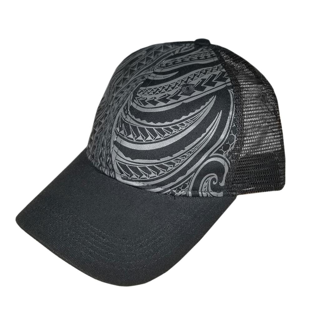 Black-Tribal-Dad-Hat-Low-Profile