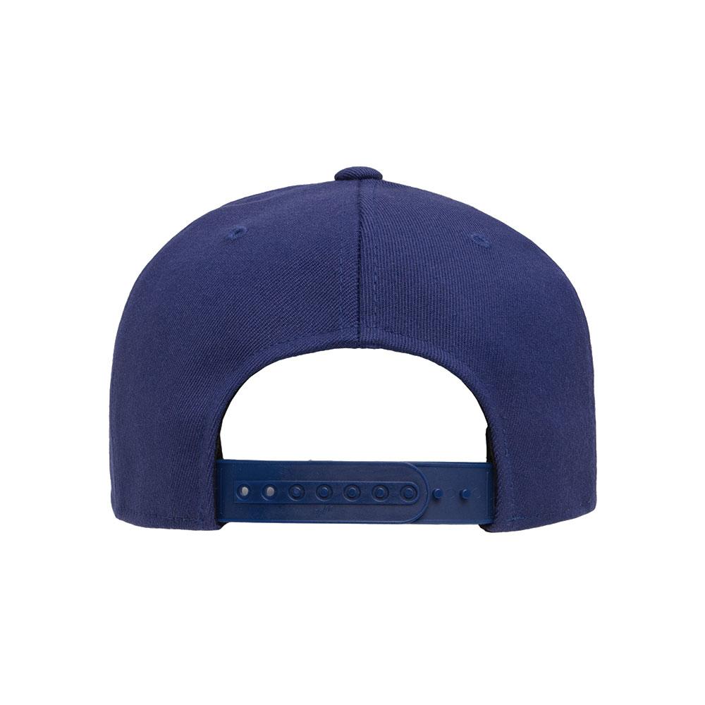 Flexfit-110F-Flatbill-Snapback-Navy-Hat-back