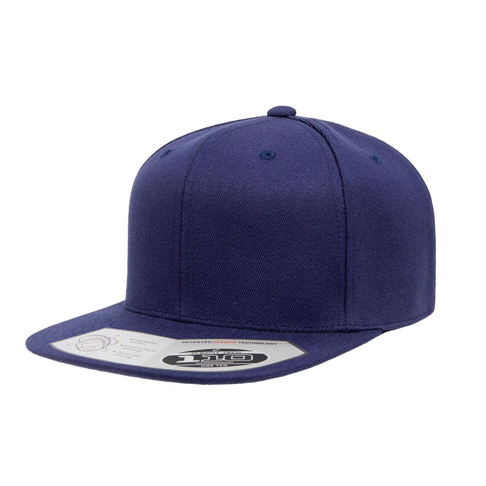 Flexfit-110F-Flatbill-Snapback-Navy-Hat
