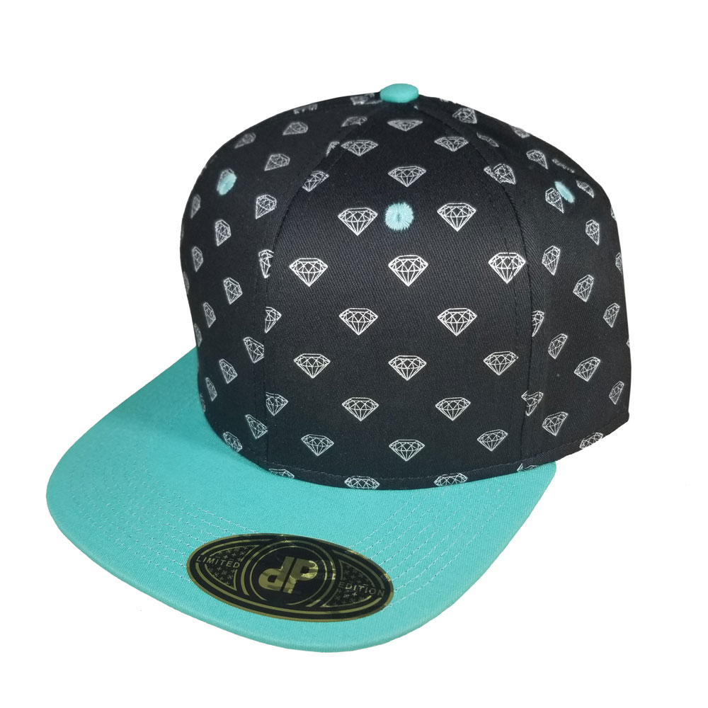 Diamond-Mint-Snapback-Flatbill-Hat-2