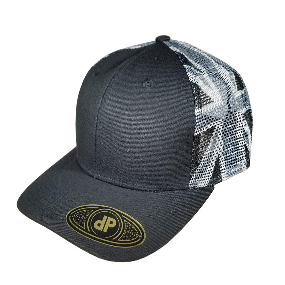 Black-Flag-Mesh-Flatbill-Snapback-Hat-Cap