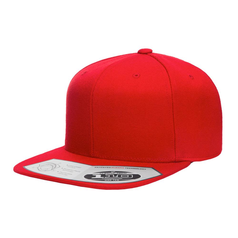 blankhat-flexfit-110F-red