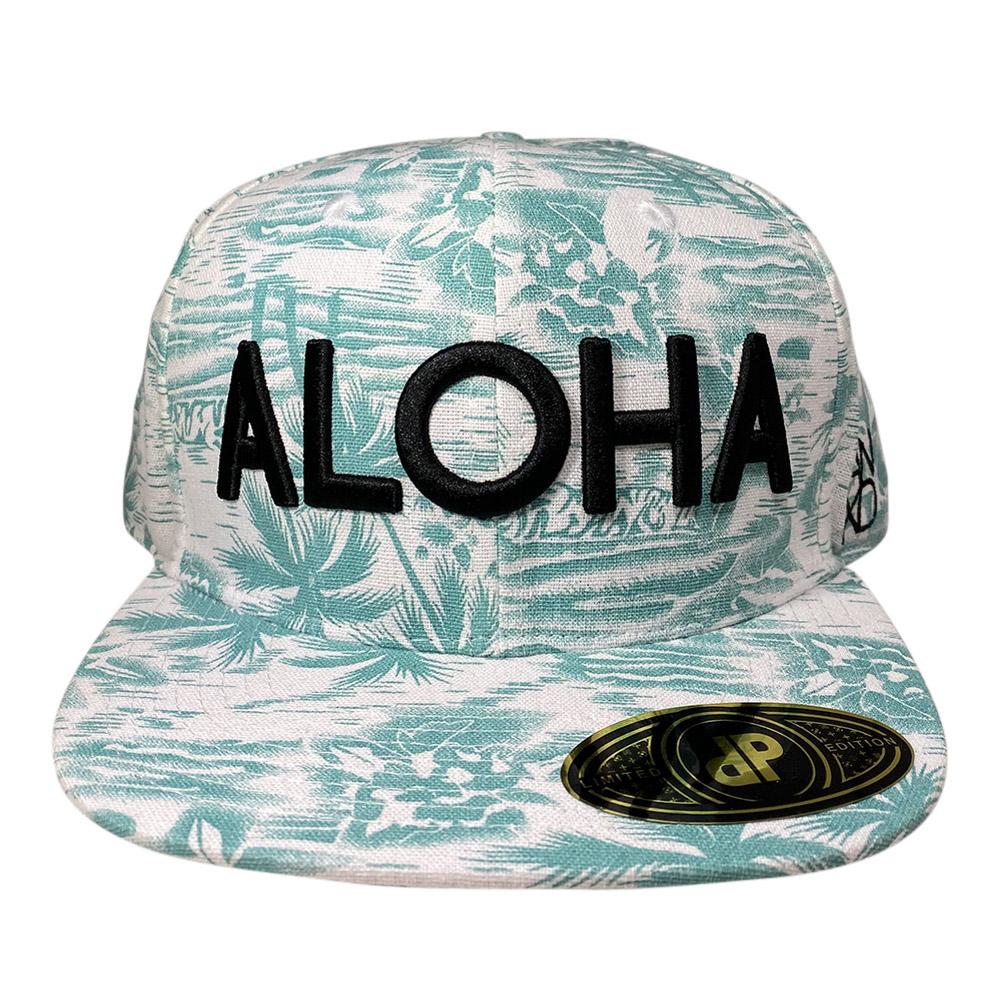 snapback-moss-palms-3d-black-aloha